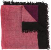 Faliero Sarti ombre scarf - unisex - Silk/Cashmere - One Size