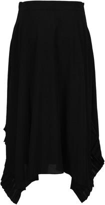 Stella McCartney Ashlyn Ruffle Detail Maxi Skirt