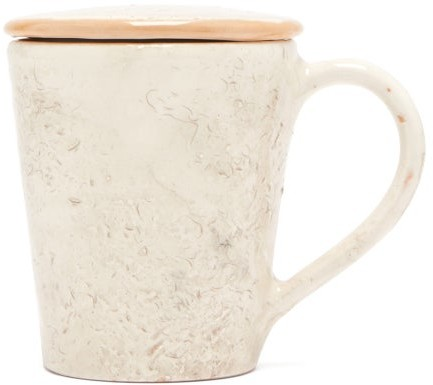 Thumbnail for your product : Brunello Cucinelli Ceramic Cup And Saucer - Cream