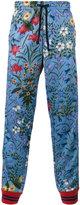Gucci floral print track pants
