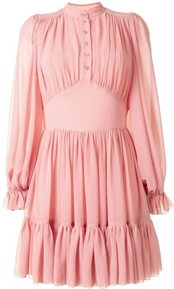 Karen Walker Lily tiered mini dress