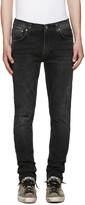 Nudie Jeans Grey Lean Dean Jeans