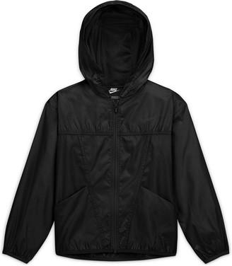 Nike Older Essential Jacket - Black