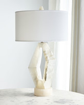 John-Richard Collection John Richard Collection Abstract Alabaster Table Lamp