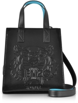 Kenzo Black Mini Tiger Tote Bag