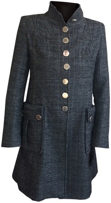 Karen Millen Anthracite Coat for Women