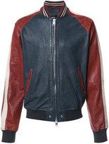 Diesel bicolour jacket - men - Sheep Skin/Shearling - M