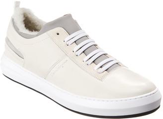 Salvatore Ferragamo Leather Sneaker`