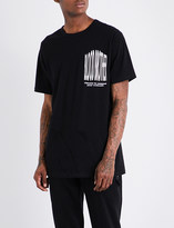 Blood Brother Visual cotton-jersey T-shirt