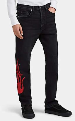 LOST DAZE Men's Glitter-Flame Jeans - Black