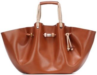 Nanushka Crafty Lynne Large leather tote