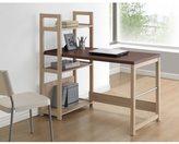 Baxton Studio Hypercube Sonoma Oak Finishing Modern Writing Desk