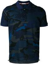 Moncler logo polo shirt - men - Cotton - M