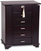 Bed Bath & Beyond Mele & Co. Monique Wooden Jewelry Box in Java
