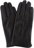 SNUGRUGS Ladies Butter Soft Leather Glove with Woven Stitch Design & Warm Fleece Lining,