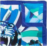 Etro tiger print scarf
