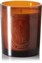 Diptyque Ambre Scented Candle, 300g - Saffron