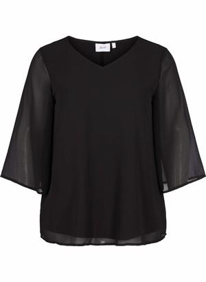 Zizzi Women's Bluse mit 3/4-armeln Blouse