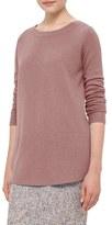 Akris Punto Women's Contrast Hem Wool & Cashmere Sweater