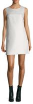 Maje Cotton Cut Out Shift Dress