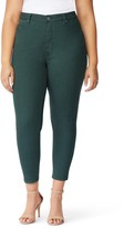 Curve Appeal Solid High Waist Compression Jeggings (Plus Size)
