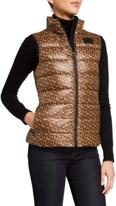 Burberry Monogram Print Quilted Vest