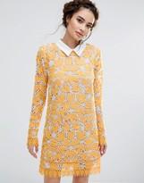 Endless Rose Long Sleeved Lace Mini Dress