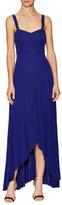 Karen Millen Fluid High Low Jersey Slip Dress