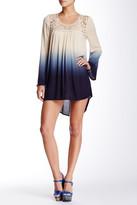 Blu Pepper Ombre Hi-Lo Dress