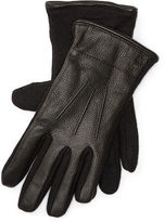 Polo Ralph Lauren Leather-Wool Touch Gloves