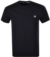 Fred Perry Crew Neck T Shirt Navy