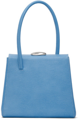 Little Liffner Blue Lizard Madame Bag
