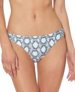 Jessica Simpson Snake-Print Hipster Bikini Bottoms Women's Swimsuit
