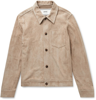 Ami Suede Overshirt