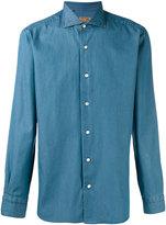 Barba denim shirt - men - Cotton - 43