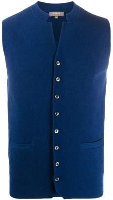 N.Peal Milano collared waistcoat