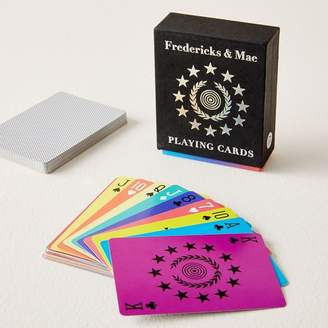 west elm Rainbow Playing Cards