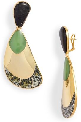 Monica Sordo Garzon Jasper Drop Earrings