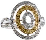 Effy Jewelry 14K Bi-Color Diamond Ring