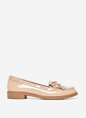 Dorothy Perkins Womens Nude 'Letty' Loafers, Nude