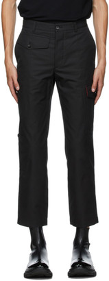 Alexander McQueen Black Military Trousers