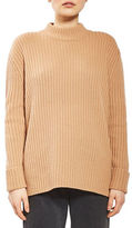 Topshop Cashmere-Wool Ribbed Sweater by Boutique
