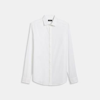 Theory Tuxedo Shirt in Stretch Cotton