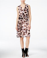 Rachel Roy Sleeveless Printed Sheath Dress