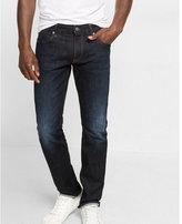 Express slim leg slim fit dark wash jeans