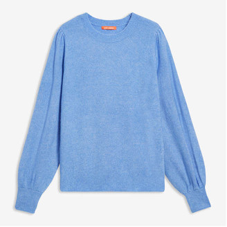 Joe Fresh Women's Full Sleeve Sweater, Powder Blue (Size M)
