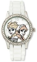 Disney Frozen LCD Watch - White
