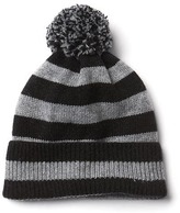 Gap Merino wool blend stripe beanie