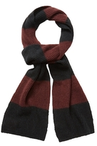 "John Varvatos Colorblock Long Scarf, 66"" x 8"""