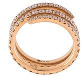 Anita Ko diamond coil ring